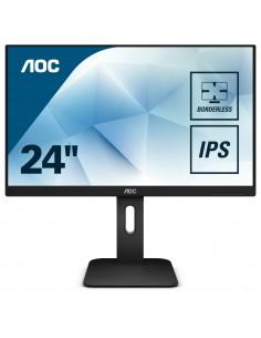"""AOC Pro-line X24P1 tietokoneen litteä näyttö 61 cm (24"""") 1920 x 1200 pikseliä WUXGA LED Musta Aoc International X24P1 - 1"""
