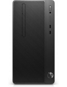 HP 290 G3 i3-9100 Micro Tower 9:e generationens Intel® Core™ i3 8 GB DDR4-SDRAM 256 SSD Windows 10 Pro PC Svart Hp 8VR91EA#ABD -