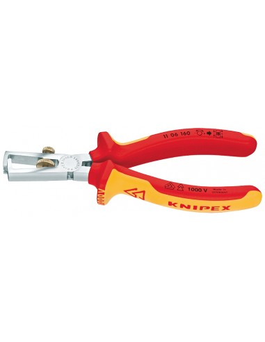 Knipex 11 06 160 kaapelinkuorija Oranssi, Punainen Knipex 11 06 160 - 1