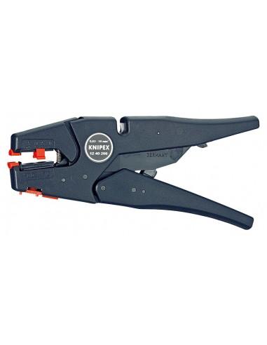 Knipex 12 40 200 kaapelinkuorija Musta Knipex 12 40 200 - 1