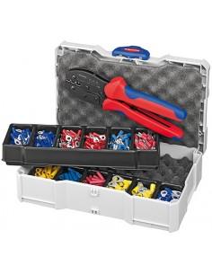 Knipex 97 90 21 johtopihdit Työkalusetti Sininen, Punainen Knipex 97 90 21 - 1