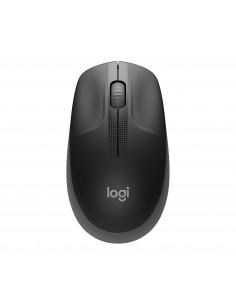 Logitech M190 Full-size Wireless Mouse Wrls Charcoal Emea In Logitech 910-005905 - 1