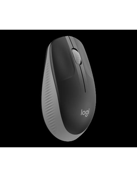 Logitech M190 Full-size Wireless Mouse Wrls Mid Grey Emea In Logitech 910-005906 - 2