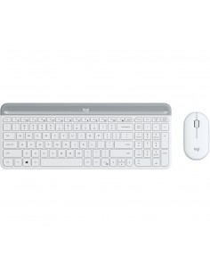 Logitech MK470 näppäimistö Langaton RF QWERTY Kansainvälinen (US) Valkoinen Logitech 920-009205 - 1