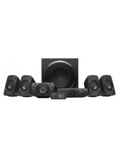 Logitech Z906 kaiutinsetti 5.1 kanavaa 500 W Musta Logitech 980-000468 - 1