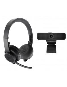 Logitech Personal Video Collaboration Kit - Zone Wireless + C925e webcam videoneuvottelujärjestelmä Henkilökohtainen 1 Logitech