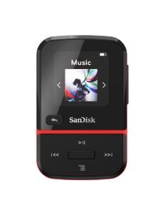 Sandisk Clip Sport Go MP3-soitin Musta, Punainen 32 GB Sandisk SDMX30-032G-G46R - 1