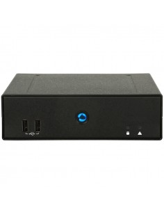 Aopen DE7200 digitaalinen mediasoitin Full HD 3840 x 2160 pikseliä 5.1 kanavaa Musta Aopen 91.DEC01.E010 - 1
