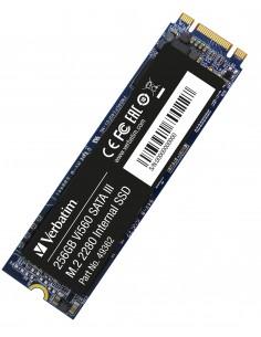 Verbatim 49362 SSD-massamuisti M.2 256 GB Serial ATA III Verbatim 49362 - 1