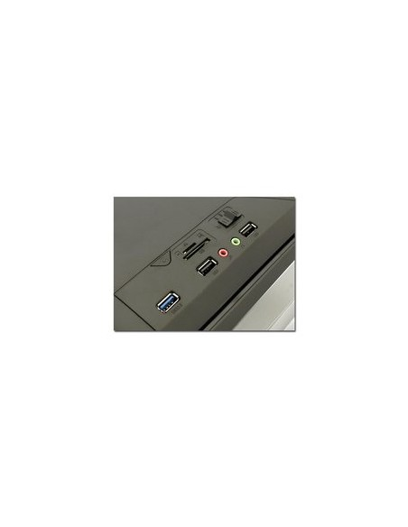 LC-Power Gaming 979B - Silver Strike Midi Tower Musta Lc Power LC-979B-ON - 9