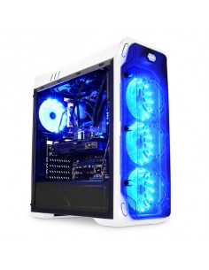 LC-Power Gaming 988W - Blue Typhoon Midi Tower Valkoinen Lc Power LC-988W-ON - 1