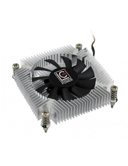 LC-Power LC-CC-65 tietokoneen jäähdytyskomponentti Suoritin Jäähdytin 6.5 cm Sininen, Hopea, Valkoinen Lc Power LC-CC-65 - 2