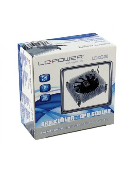 LC-Power LC-CC-65 tietokoneen jäähdytyskomponentti Suoritin Jäähdytin 6.5 cm Sininen, Hopea, Valkoinen Lc Power LC-CC-65 - 4