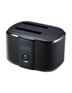 LC-Power LC-DOCK-U3-II tallennusaseman telakointiasema USB 3.2 Gen 1 (3.1 1) Type-B Musta Lc Power LC-DOCK-U3-II - 1