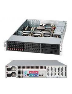 Supermicro CSE-213LTQ-R720LPB tietokonekotelo Teline Musta 720 W Supermicro CSE-213LTQ-R720LPB - 1