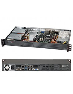 Supermicro SC504-203B Intel® C222 LGA 1150 (Socket H3) Supermicro CSE-504-203B - 1