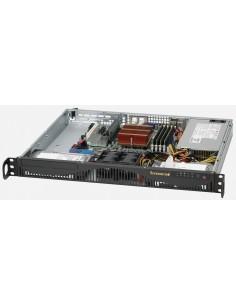 Supermicro CSE-512F-350B tietokonekotelo Teline Musta 350 W Supermicro CSE-512F-350B - 1