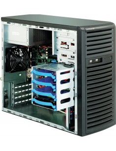Supermicro SuperChassis 731i-300B Mini Tower Musta 500 W Supermicro CSE-731I-300B - 1