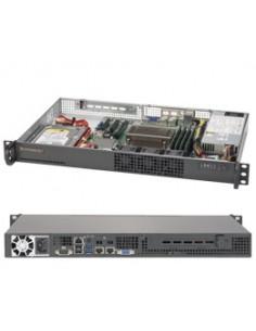 Supermicro 5019S-L Intel® C232 LGA 1151 (pistoke H4) Teline ( 1U ) Musta Supermicro SYS-5019S-L - 1