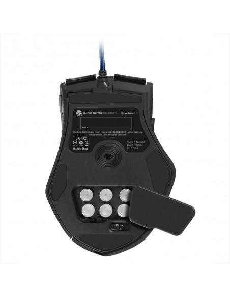 Sharkoon Drakonia Black hiiri USB A-tyyppi Laser 8200 DPI Oikeakätinen Sharkoon Technologies Gmbh 4044951013579 - 5