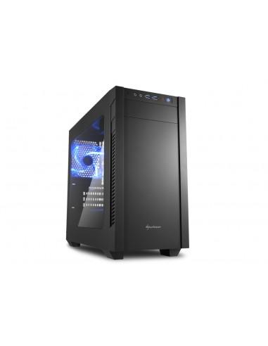 Sharkoon S1000 Window Tower Musta Sharkoon Technologies Gmbh 4044951013944 - 1