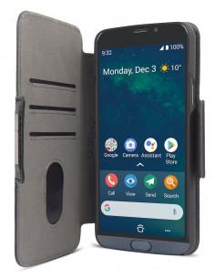 """Doro 7645 matkapuhelimen suojakotelo 14,5 cm (5.7"""") Lompakkokotelo Musta Doro 7645 - 1"""