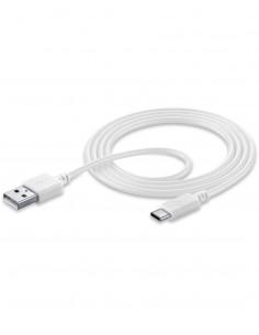 Cellularline USBDATACUSBA-CW USB-kaapeli 1,2 m 2.0 USB A C Valkoinen Cellularline USBDATACUSBA-CW - 1