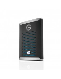 G-Technology G-DRIVE Mobile Pro SSD 2000 GB Musta, Hopea G-technology 0G10312-1 - 1