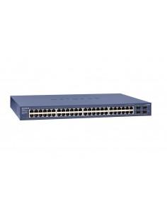 Netgear GS748T Hallittu L2+ Gigabit Ethernet (10/100/1000) Sininen Netgear GS748T-500EUS - 1