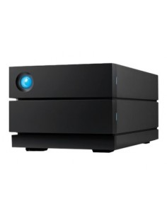 LaCie 2big RAID 4TB levyjärjestelmä Työpöytä Musta Lacie STHJ4000800 - 1