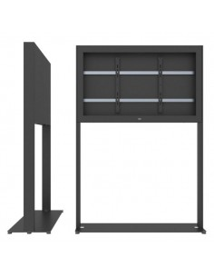 """SMS Smart Media Solutions 55L Casing Freestand Basic G2 BL 139.7 cm (55"""") Black Sms Smart Media Solutions 702-006-11 - 1"""