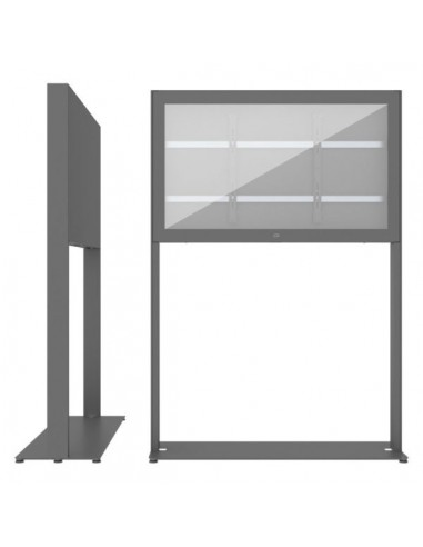 """SMS Smart Media Solutions 55L Casing Freestand Basic G2 DG 139.7 cm (55"""") Grå Sms Smart Media Solutions 702-006-22 - 1"""