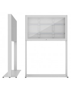 """SMS Smart Media Solutions 43P Casing Freestand Storage G2 WH 109.2 cm (43"""") Valkoinen Sms Smart Media Solutions 702-007-42 - 1"""