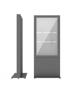 """SMS Smart Media Solutions 55P Casing Freestand Storage G2 DG 139.7 cm (55"""") Grå Sms Smart Media Solutions 702-009-22 - 1"""