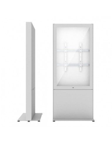 """SMS Smart Media Solutions 55P Casing Freestand Storage G2 WH 139.7 cm (55"""") Vit Sms Smart Media Solutions 702-009-42 - 1"""
