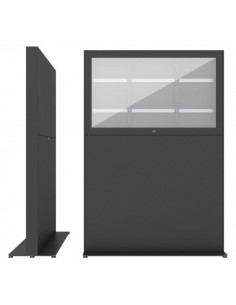 """SMS Smart Media Solutions 49L Casing Freestand Storage G2 BL 124.5 cm (49"""") Black Sms Smart Media Solutions 702-011-12 - 1"""