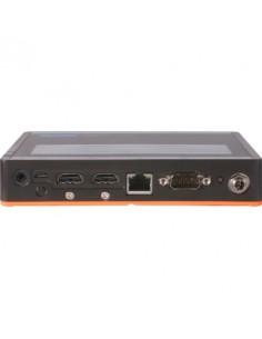 Advantech USM-110 digitaalinen mediasoitin 16 GB 3840 x 2160 pikseliä Harmaa, Oranssi Advantech USM-110A-BR120 - 1