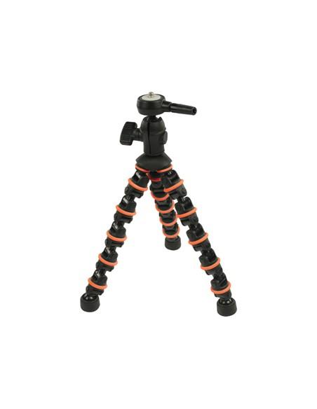 CamLink CL-TP140 kolmijalka Digitaalinen ja elokuva-kamerat 3 jalkoja Musta, Oranssi Camlink CL-TP140 - 3