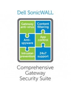 SonicWall Comprehensive Gateway Security Suite Sonicwall 01-SSC-4455 - 1