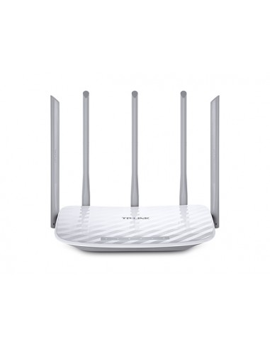 TP-LINK AC 1350 langaton reititin Kaksitaajuus (2,4 GHz/5 GHz) Nopea Ethernet Valkoinen Tp-link ARCHER C60 - 1