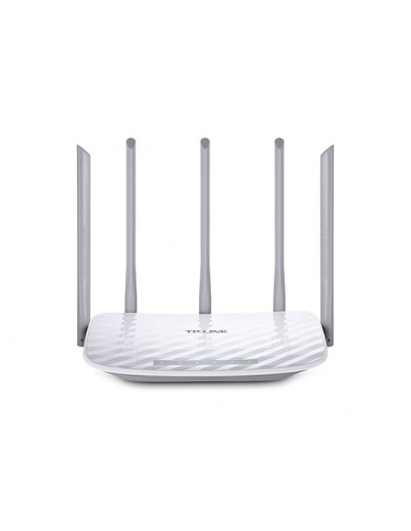 TP-LINK Archer C60 langaton reititin Kaksitaajuus (2,4 GHz/5 GHz) Nopea Ethernet Valkoinen Tp-link ARCHER C60 - 1