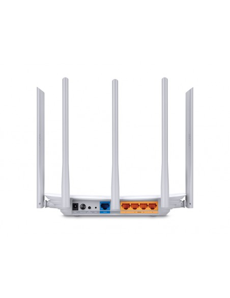 TP-LINK AC 1350 langaton reititin Kaksitaajuus (2,4 GHz/5 GHz) Nopea Ethernet Valkoinen Tp-link ARCHER C60 - 3