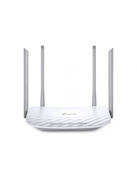 TP-LINK Archer C50 langaton reititin Kaksitaajuus (2,4 GHz/5 GHz) Nopea Ethernet Valkoinen Tp-link ARCHER-C50 - 1