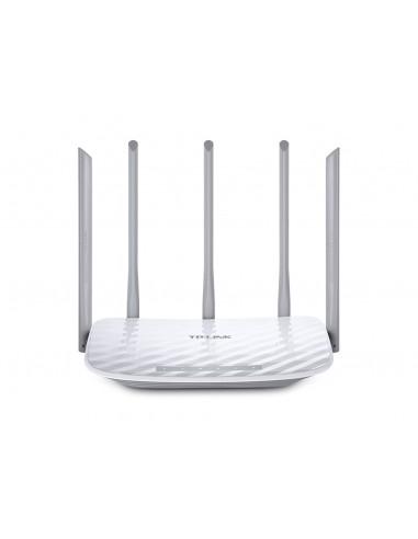 TP-LINK Archer C60 langaton reititin Kaksitaajuus (2,4 GHz/5 GHz) Nopea Ethernet Valkoinen Tp-link ARCHER-C60 - 1