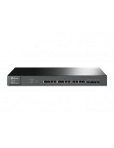 TP-LINK JetStream L2+ 10G Ethernet (100/1000/10000) Musta 1U Tp-link T1700X-16TS - 1