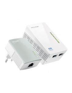 TP-LINK TL-WPA4220KIT PowerLine-verkkosovitin 300 Mbit/s Ethernet LAN Wi-Fi Tp-link TL-WPA4220-KIT - 1