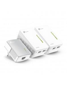 TP-LINK TL-WPA4220T KIT PowerLine-verkkosovitin 300 Mbit/s Ethernet LAN Wi-Fi Valkoinen 3 kpl Tp-link TL-WPA4220TKIT - 1