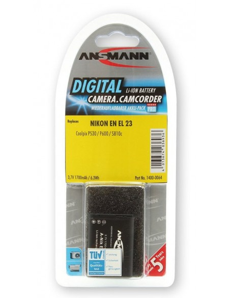 Ansmann 1400-0064 kameran/videokameran akku Litiumioni (Li-Ion) 1700 mAh Ansmann 1400-0064 - 2