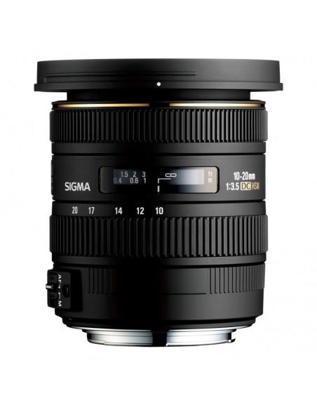 Sigma 10-20mm F3.5 EX DC HSM SLR Laajakulmaobjektiivi Musta Sigma 202956 - 1