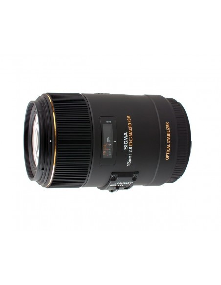 Sigma MACRO 105mm F2.8 EX DG OS HSM SLR Makro-objektiivi Musta Sigma 258956 - 2